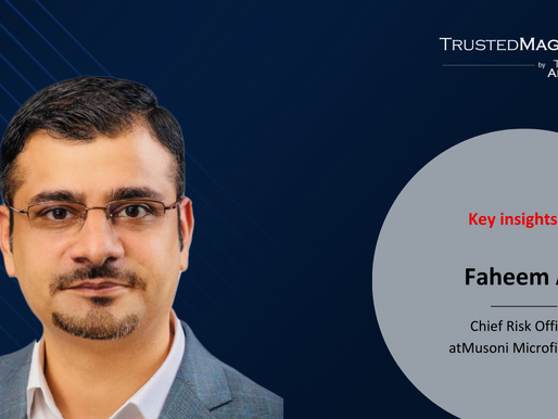 Q&A with Faheem Ali, CRO at Musoni Microfinance
