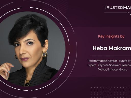 Q&A with Heba Makram, Transformation Advisor, Emirates Group