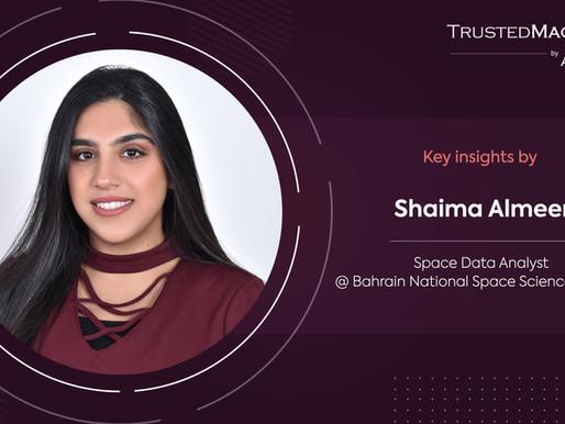 Q&A with Shaima Almeer, Space Data Analyst @ Bahrain NSSA