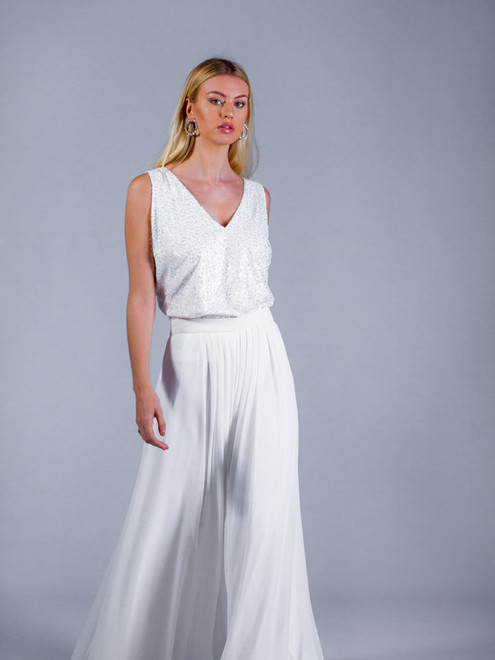 Fern Cami with Crocus Trouser