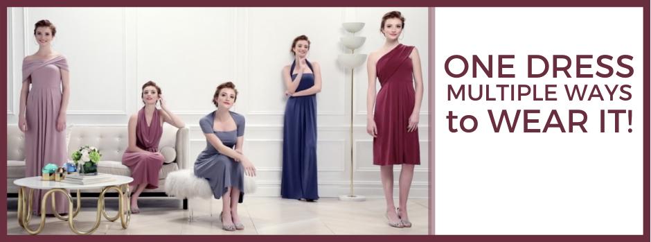 The Loop Dress by Dessy UK
