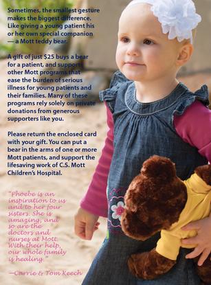 Graphic Design - C.S. Mott Children's Hospital Card (Page 3)