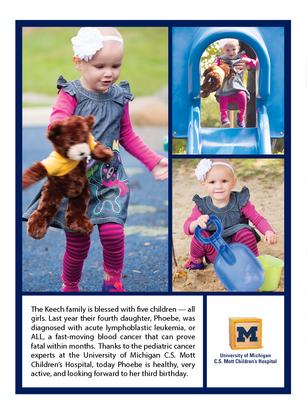Graphic Design - C.S. Mott Children's Hospital Card (Page 2)