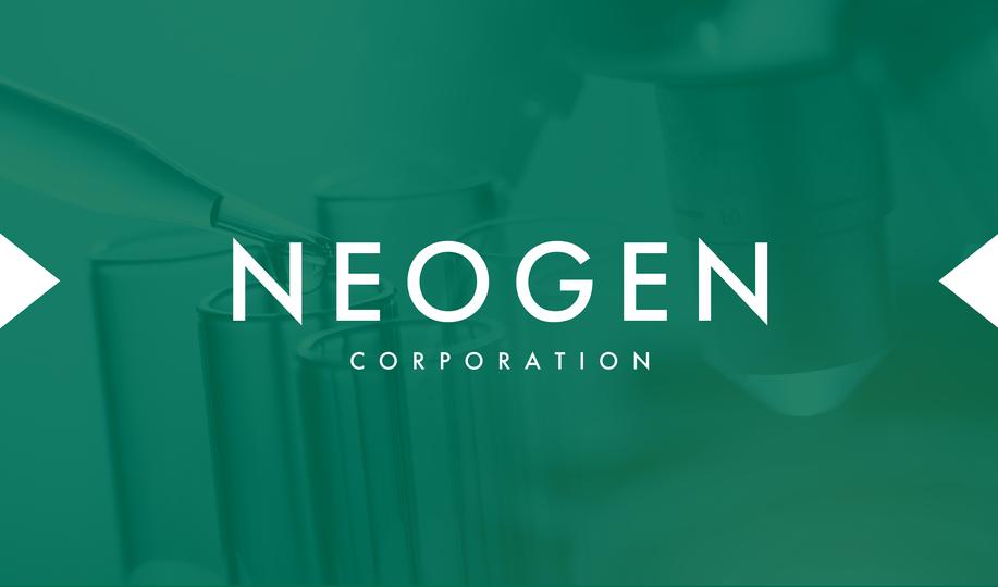 Graphic Design - Neogen Business Card (Front)