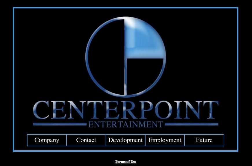 Website Design - Centerpoint Entertainment