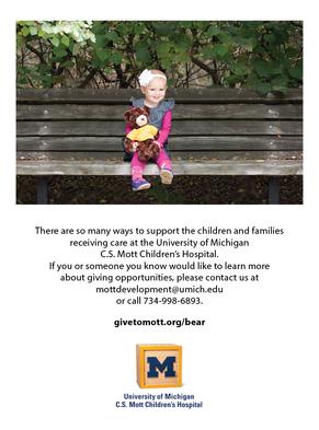 Graphic Design - C.S. Mott Children's Hospital Card (Page 4)