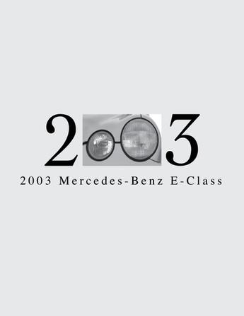Graphic Design - Mercedes-Benz (2003) Ad