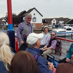 The Broads Boat Ride