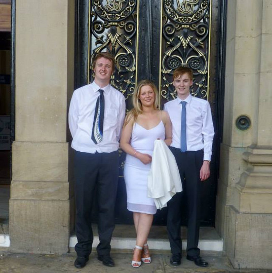 Graduation from Leeds College of Music