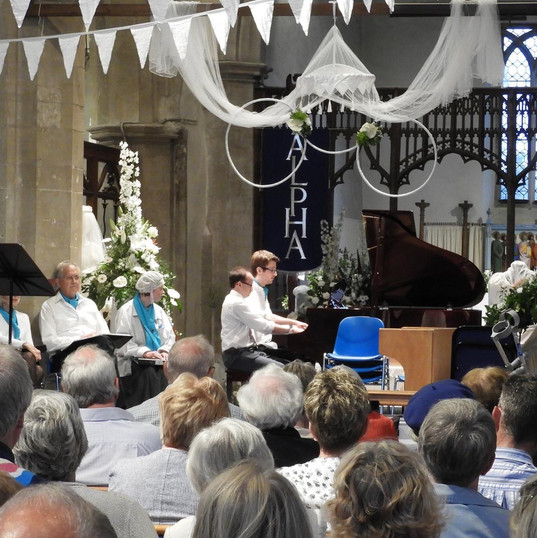 Piano Duets with the Hunstanton Choir