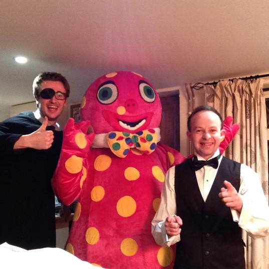 The Missing Coda meet Mr Blobby