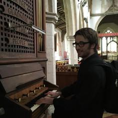 Matthew finds a Church organ