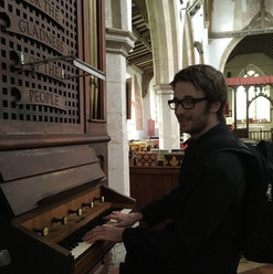 Matthew finds a Church organ