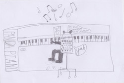 Piano Drawing #5 - Wells-next-the-Sea Primary & Nursery School