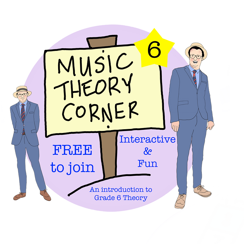 Online Music Theory for all - Grade 6
