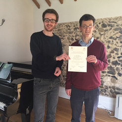 ABRSM Diploma Certificate with Teacher