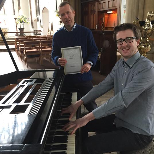 Matthew and Martin Organ/Piano Recital