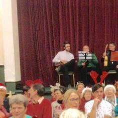 Christmas Choir with the Ukulele Group