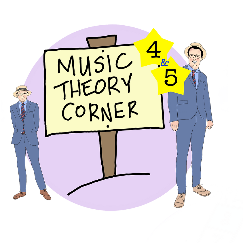 Online Music Theory for all - Grade 4 and 5