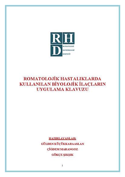 ROMATOLOJİK HASTALIKLARDA KULLANILAN BİY