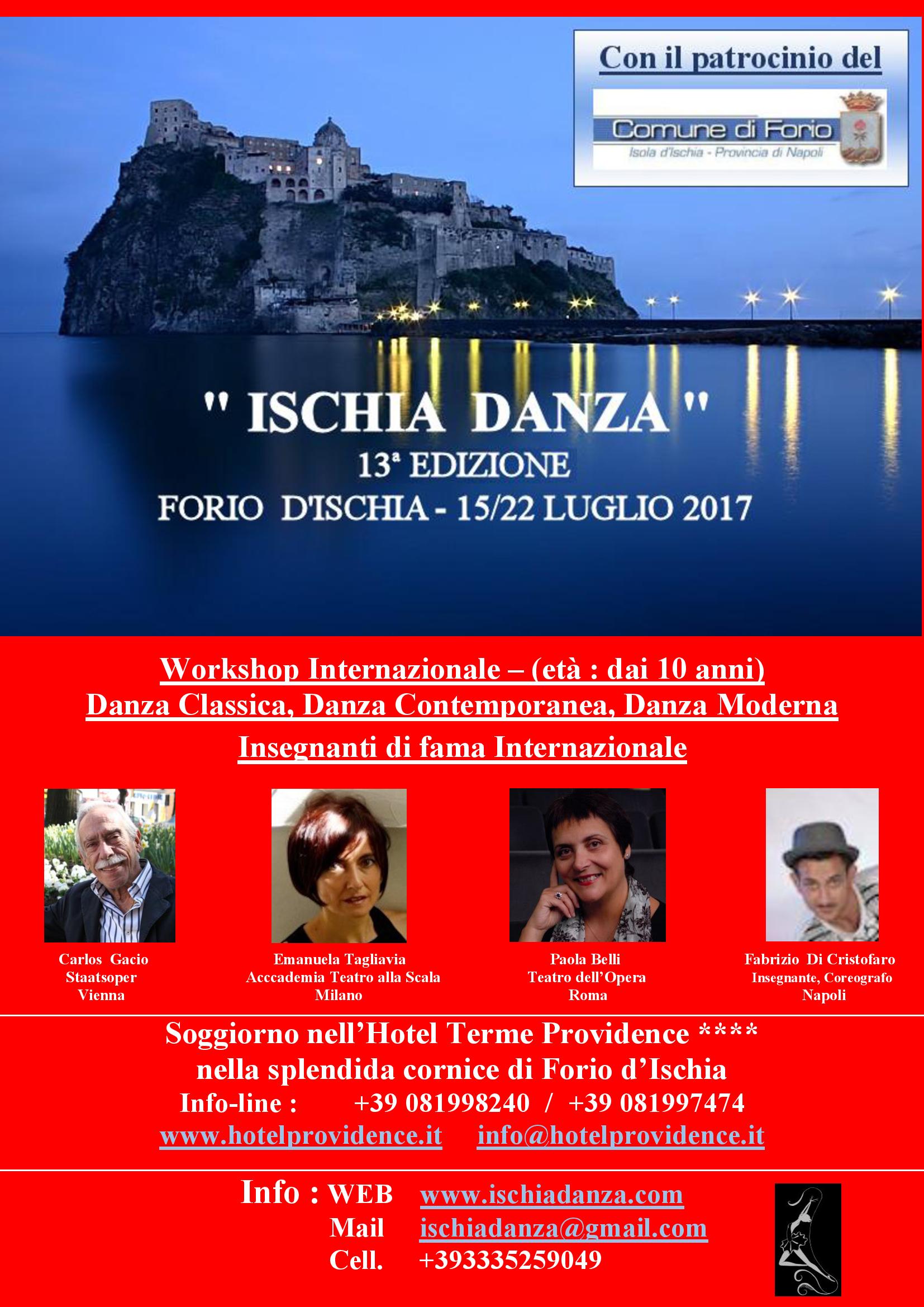 Locandina Ischia 2017