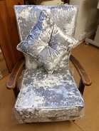 Chair in Lux Fabric
