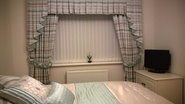 Box Pleat and Curtains.
