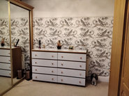 Emma Shipley Lynx Wallpaper