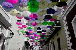 Umbrellas San Juan