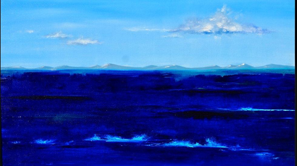 SALE Ocean Blue #2