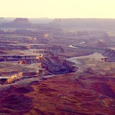 Sunset on Canyonlands