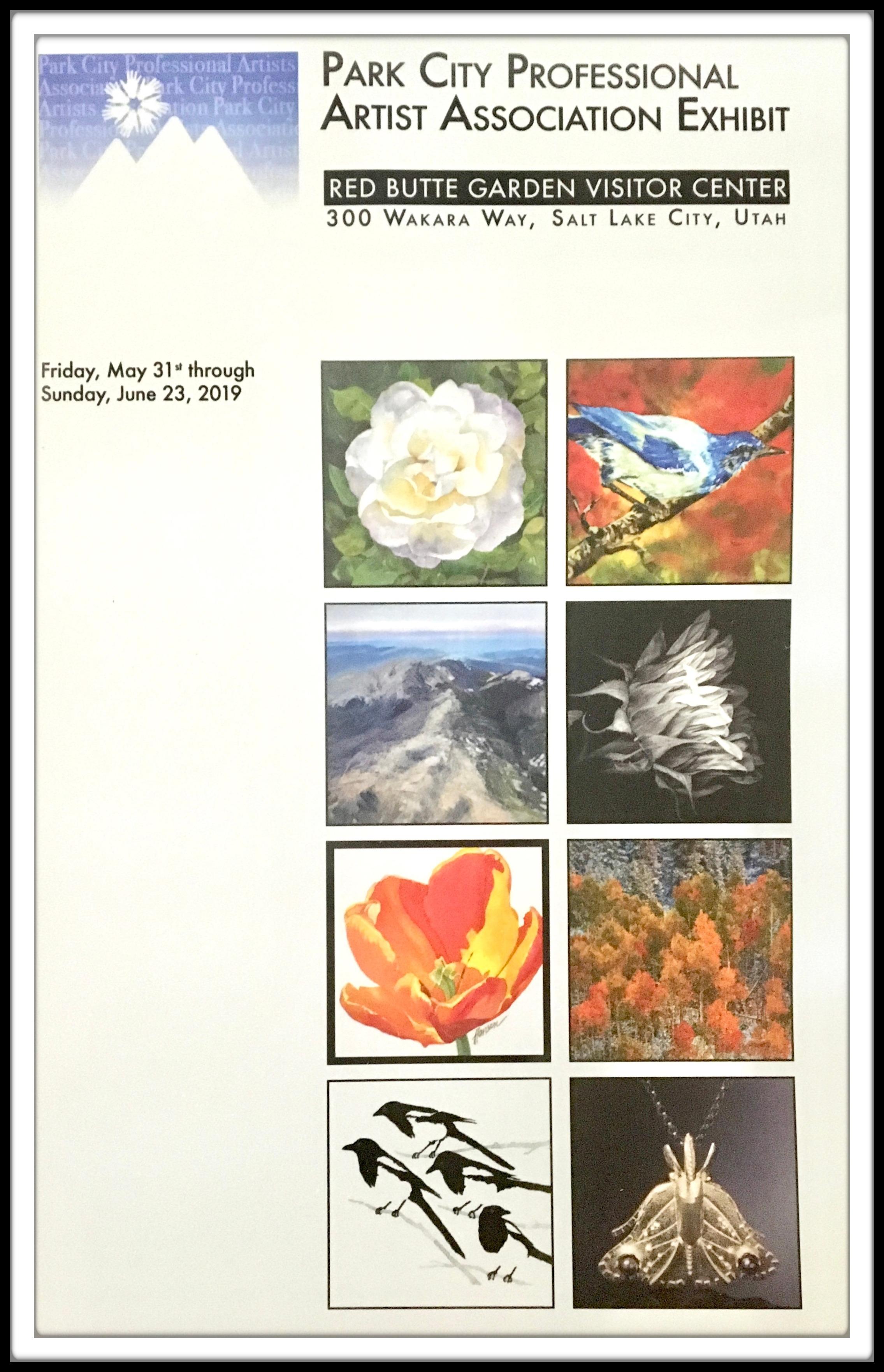 Red Butte Garden Exhibit, SLC