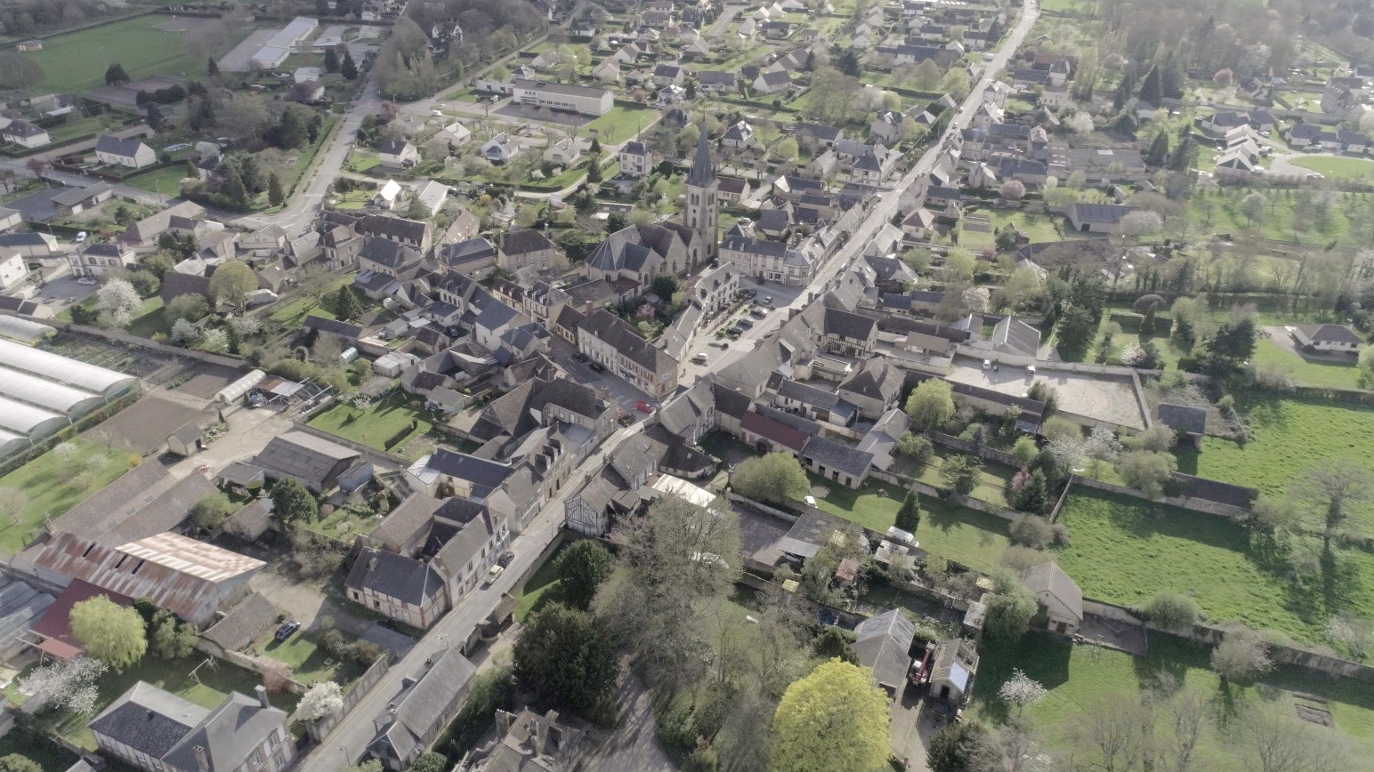 Bourth Eure Normandie Drone