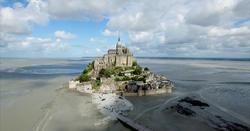 Mont Saint Michel Drone Normandie