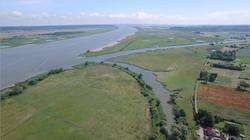 La Seine Eure Normandie Drone