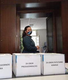 Kandidatkinja Iskra Vostrel Prpić