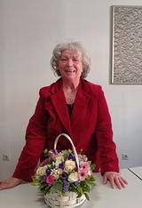 Prva predsjednica SRPOOH-a gđa. Božena Strugar