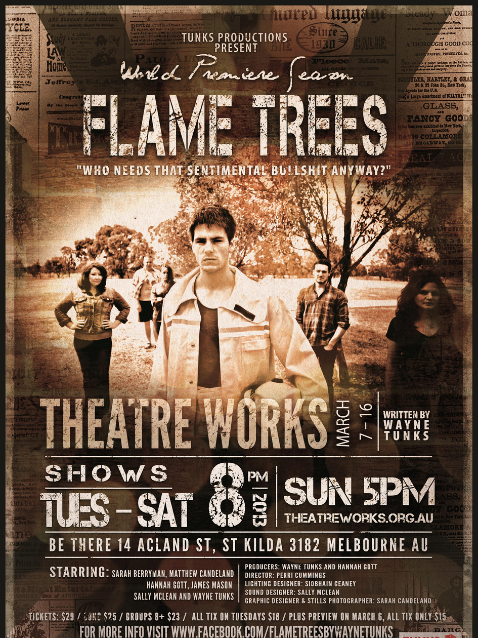 Flames Trees at Theatreworks