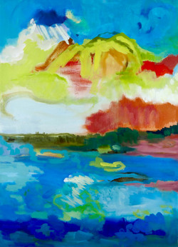 Abstract Landscape III, 2018