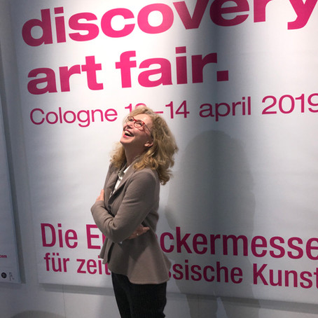 DISCOVERY ART FAIR COLOGNE | 12.-14. April | Opening 11. April