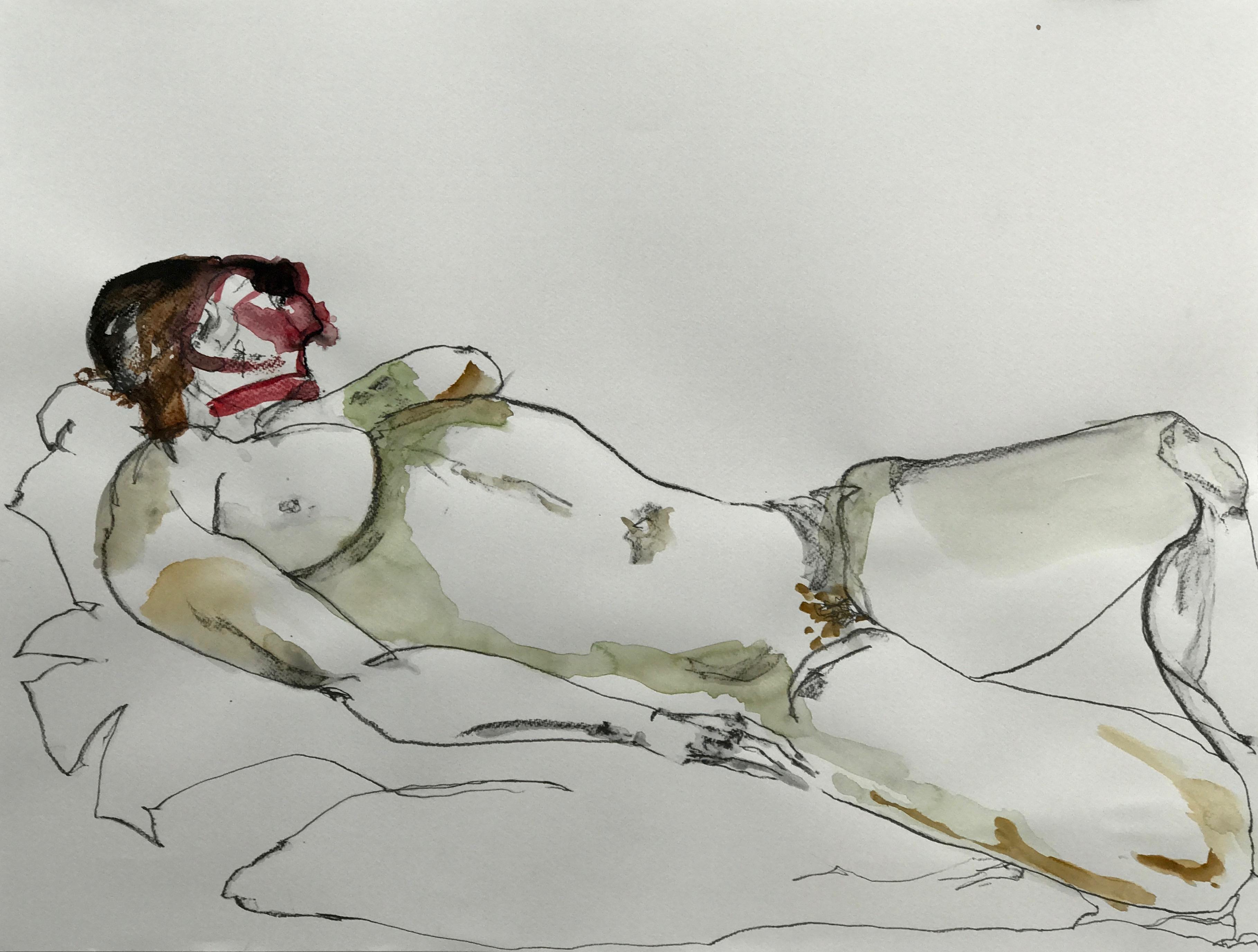 Nude study, 2017