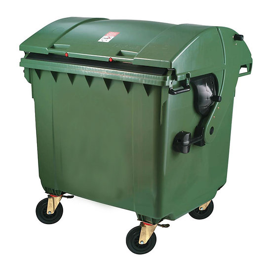 Garbage Bin 1100L with round lid - MGB1100