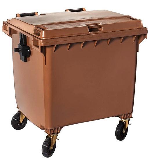 Garbage Bin 1100L with flat lid - MGB1100 FL