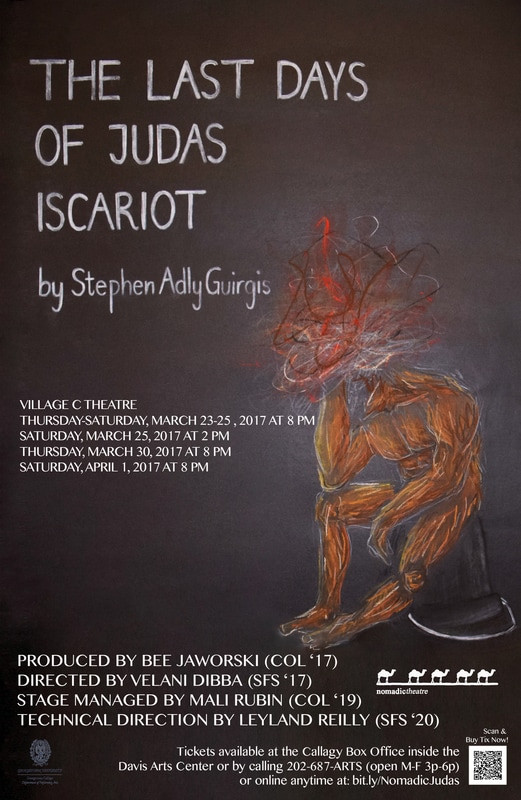 The Last Days of Judas Iscariot Poster Georgetown