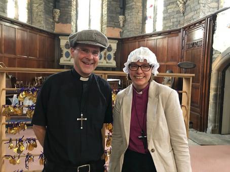 Double Bishop visit!