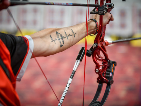 Five of the best archery tattoos at The Vegas Shoot