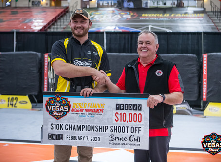 Justin Hannah wins first $10k-a-Day Championship Shoot-Off