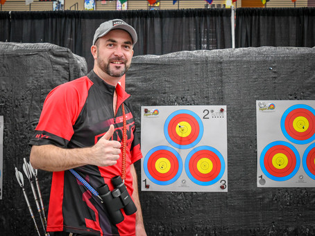 Frenchman PJ Deloche named lucky dog at Vegas Shoot 2019