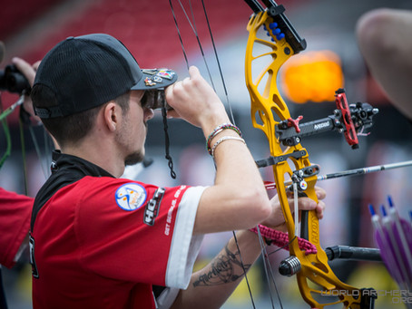 49 compound archers perfect after second day in Vegas