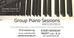 New: Group Piano Sessions in Macclesfield
